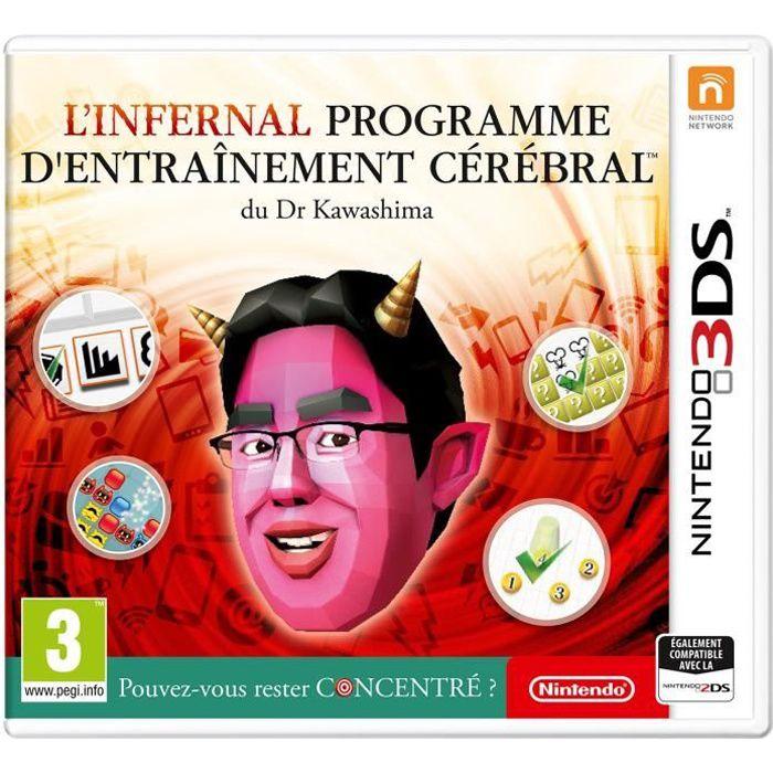 L'infernal programme d'entraînement cérébral du Dr Kawashima : Pouvez-vous rester concentré ? Jeu 3DS
