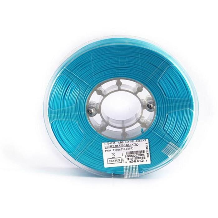ESUN Filament pour Imprimante 3D ABS ESUN - Bleu ciel - 3 mm - 1kg