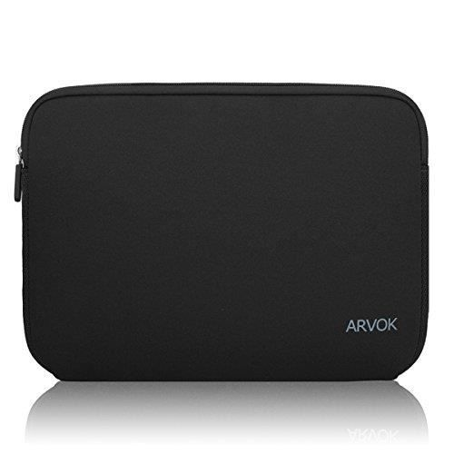 8ea87b1460 ARVOK 11 11.6 12 Pouces Housse pour Ordinateur Portable en Néoprène  Pochette Sacoche pour Chromebook Ultrabook Netbook Tablette (Noi