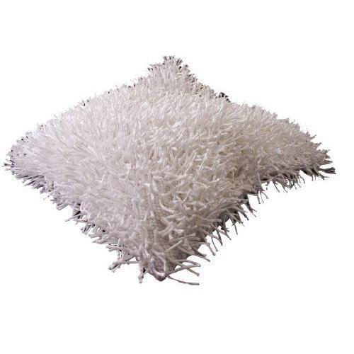 coussin blanc long poil achat vente pas cher. Black Bedroom Furniture Sets. Home Design Ideas
