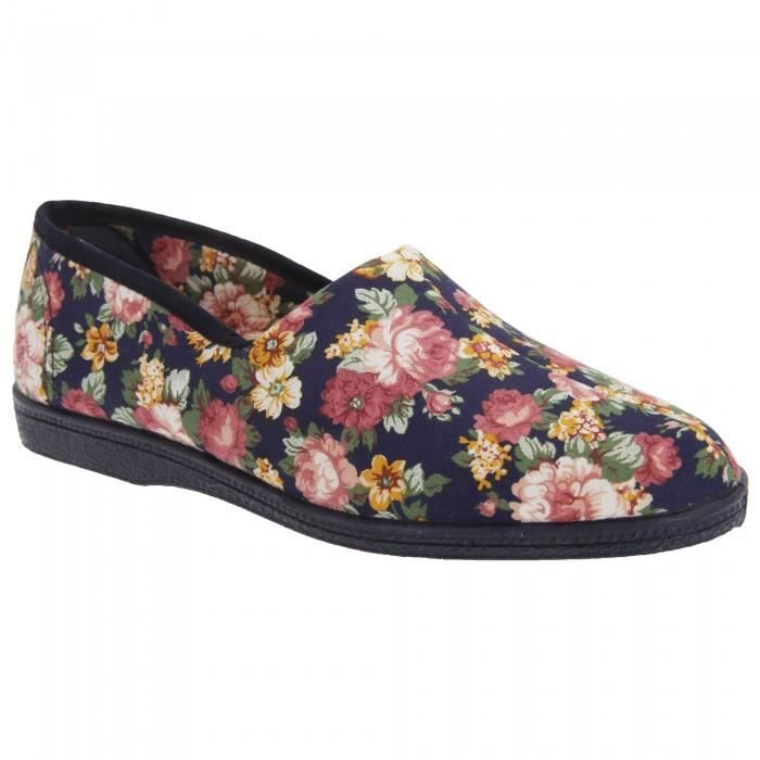 Sleepers Rose - Chaussons en toile - Femme