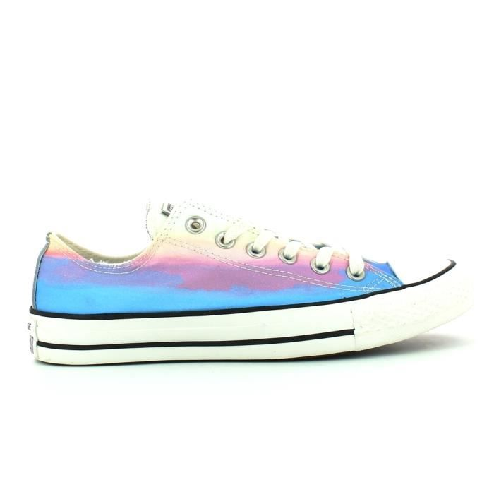 2abaa335d2abd Basket basse converse chuck taylor all star ox daybreak Êtoile fantaisie  turquoise
