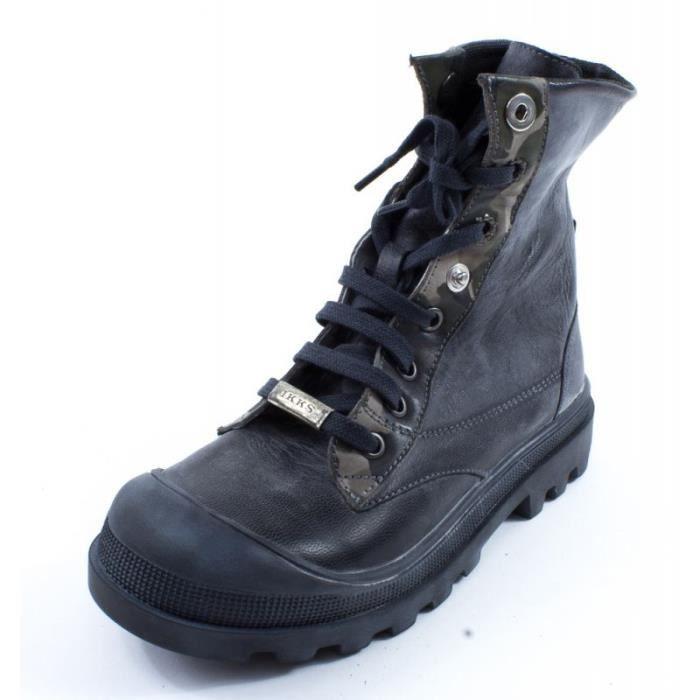 Boots IKKS DAVID gris K3511 TOex5DZw