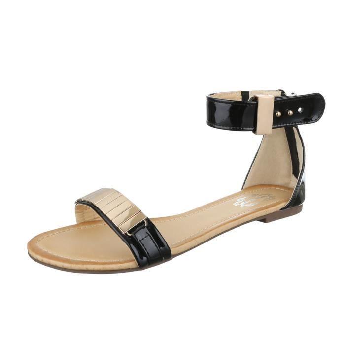 femme sandale chaussure chaussures d'été chaussures de plage l'orteil séparerBeige PD1bj