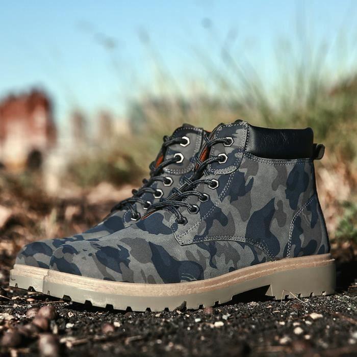 Bottine Homme Poids Léger Nouvelle Meilleure Qualité Mode Chaussures Confortable Chaussures AntidéRapant 39-44