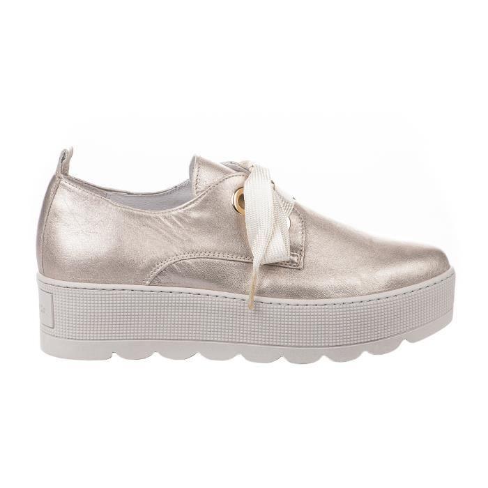 Chaussures à lacet femme - LOUISA - Beige rose - P19 - Millim