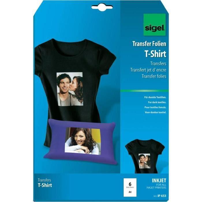 films pour transfert jet d 39 encre sur t shirts s prix. Black Bedroom Furniture Sets. Home Design Ideas