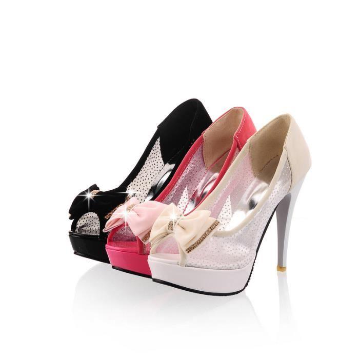 2016 sexy sandale à bout ouvert Les Chaussures ...