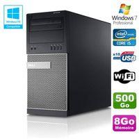 UNITÉ CENTRALE + ÉCRAN PC Tour Dell Optiplex 790 Intel Core I5 3.1Ghz 8Go