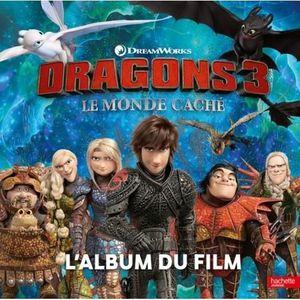 Livre 3-6 ANS Dragons 3. L'album du film