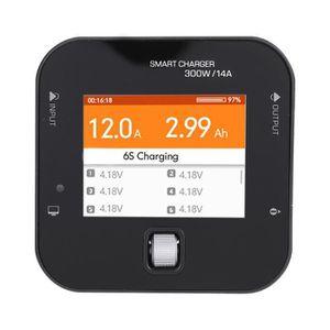 CHARGEUR DE BATTERIE FIHERO Q6 Pro 300W 14A Assistance Chargeur numériq