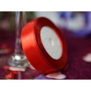 FIL - TOUR DE COU  5 Bobine ruban satin large décoration mariage voit