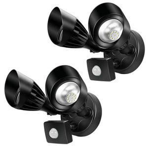 PROJECTEUR EXTÉRIEUR Ustellar Lot de 2 Double Projecteur LED Extérieur,