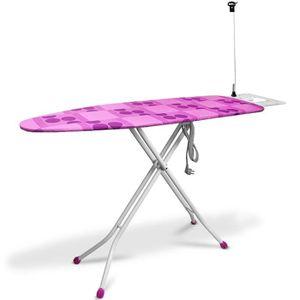 PIÈCE SOIN DU LINGE Table à repasser - 140x38cm - Raccordement électri