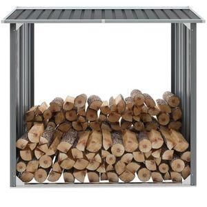 ABRI JARDIN - CHALET Homgeek Abri de Stockage de Bois | Abri de Chauffa
