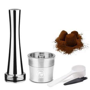 CAFETIÈRE LEEGOAL Set de Filtrer  ILLY capsule de café en ac