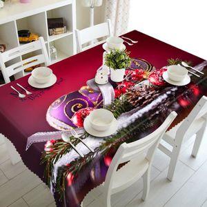nappe pour noel achat vente nappe pour noel pas cher cdiscount. Black Bedroom Furniture Sets. Home Design Ideas