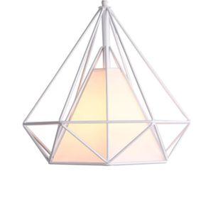 LUSTRE ET SUSPENSION STOEX Lustre Suspension Cage forme Diamant Contemp