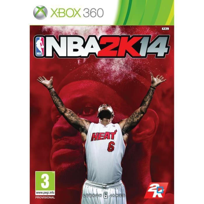 JEUX XBOX 360 Nba 2k14 - - Jeu Xbox 360