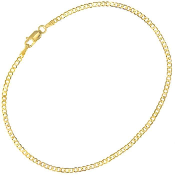 Ufc050 7.5 - Bracelet Femme - Or Jaune 375-1000 (9 Cts) 0.75 Gr MEAGT