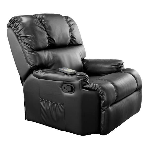 fauteuil massant et chauffant achat vente pas cher. Black Bedroom Furniture Sets. Home Design Ideas