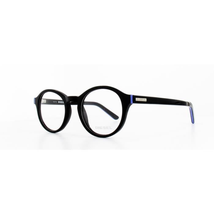 640beae21d4d99 Lunettes de vue DIESEL DL5024 001 Noir - Achat   Vente lunettes de ...