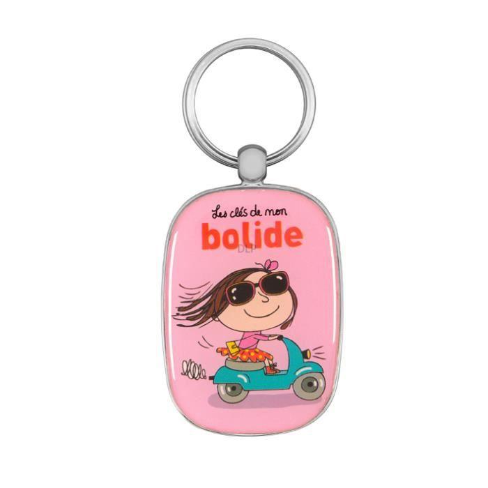 PorteClés Original LES CLÉS DE MON BOLIDE Clefs Voiture Idée - Porte clé femme original