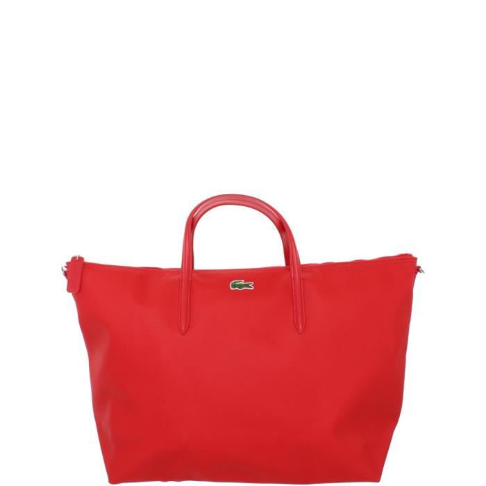 Lacoste Vernis A Sac Main Rouge POn80wkNX