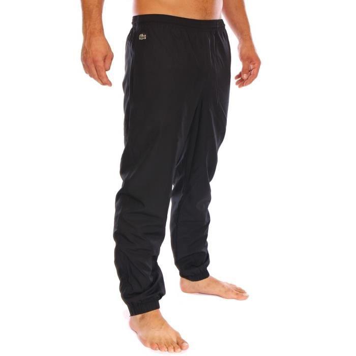 lacoste homme bas de jogging suv tement noir xh120t. Black Bedroom Furniture Sets. Home Design Ideas