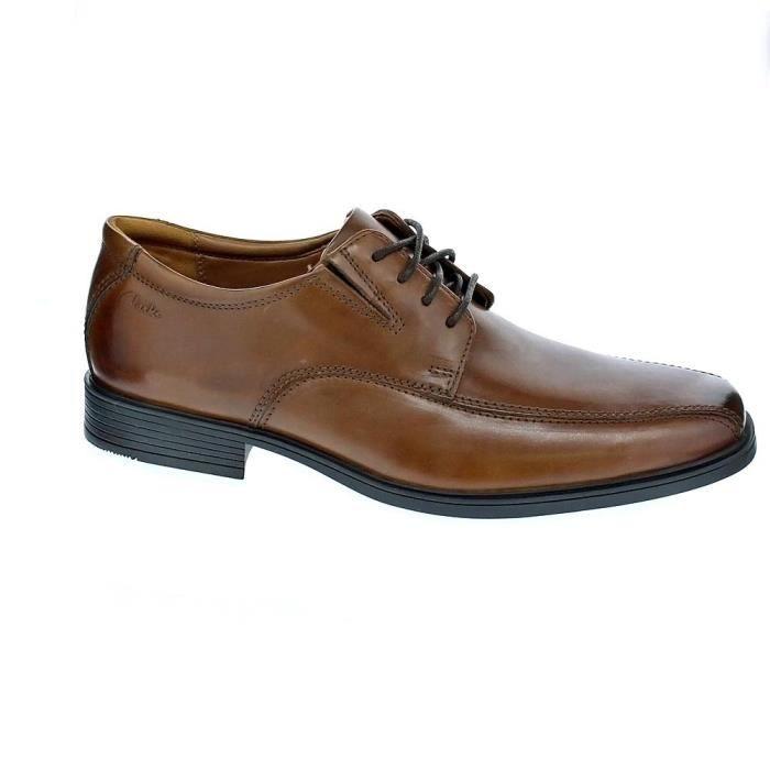 Chaussures à lacets Clarks Tilden Walk Homme Marron 41