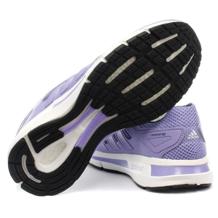 adidas Revenergy Techfit Femme Running Baskets / Sneakers Pourpre