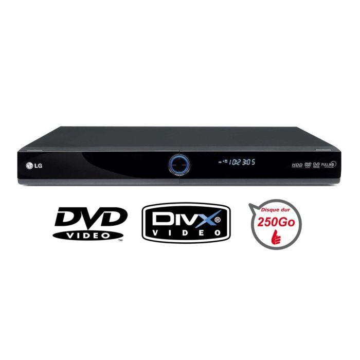 lg rht498h lecteur dvd enregistreur 250go magnetoscope numerique avis et prix pas cher. Black Bedroom Furniture Sets. Home Design Ideas