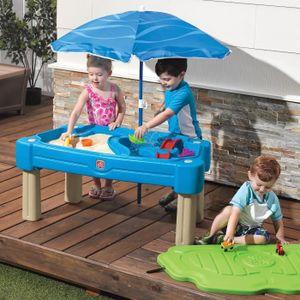 STEP2 Table sable et eau Cascade avec Parasol