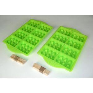 YOKO DESIGN Moule ? Mini gaufres pour party vert