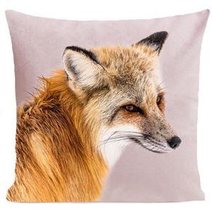 COUSSIN ARTPILO - Coussin FOXY Coton déperlant - Rose pâle