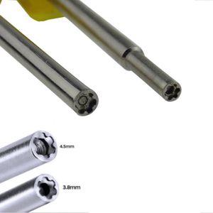 PACK ACCESSOIRE Outil de sécurité de peu de tournevis de 3.8mm + 4