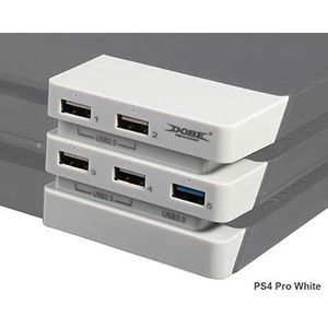HUB USB Hub 3.0 in blanc glaciaire pour PS4 Pro PeakLe