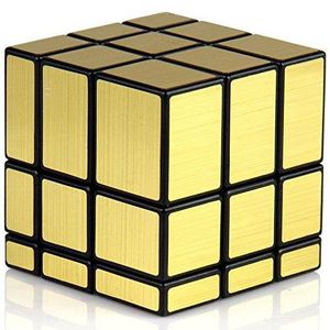 CASSE-TÊTE 3x3 Miroir d'or Rubiks Cube TN3SA