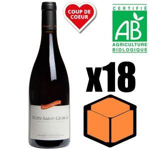 VIN ROUGE X18 David Duband 2014 AOC Nuits-Saint-Georges Vin