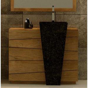 meuble de salle de bain rhodes vasque noire l100 e Résultat Supérieur 15 Superbe Vasque Salle De Bain Noir Stock 2017 Xzw1