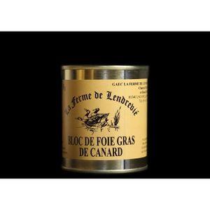 FOIE GRAS Bloc de foie gras artisanal cuit - Poids:130g