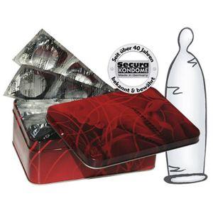 PRÉSERVATIF Préservatifs fins lubrifiés avec réservoir