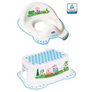 RÉDUCTEUR DE WC Peppa Pig réducteur de toilette anti-dérapant + ma