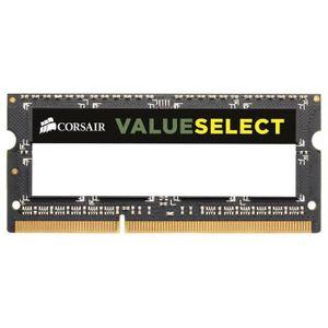 MÉMOIRE RAM Corsair 4GB 1600MHz DDR3 SODIMM, 4 Go, 1 x 4 Go, D