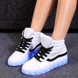 chaussures LED Lace Up baskets 37# OA1twvQ