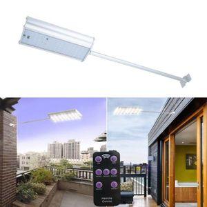 LAMPE DE JARDIN  Lampe solaire 70 LED étanche avec télécommande dét