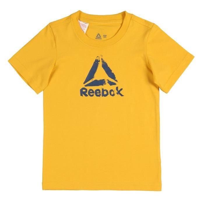 REEBOK T-shirt Element Bas - Enfant garçon - Jaune