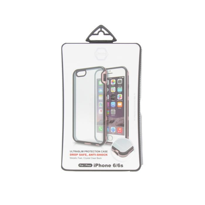 IT SKINS Venum Bumper iPhone 6 / 6s - Argent et Rose