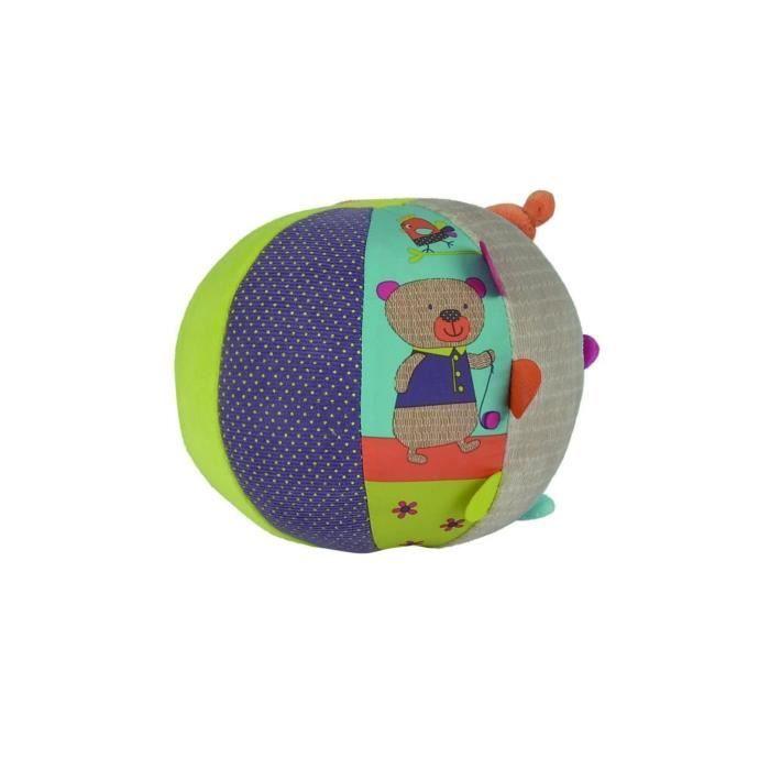 NICOTOY Ballon d'éveil Gary Multicolors
