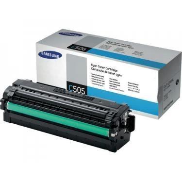 SAMSUNG Cartouche de toner CLT-C505L/ELS - cyan - Capacité standard 3.500 pages